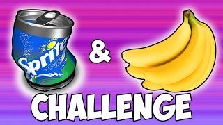 SPRITE & BANANA CHALLENGE | SUCCESS! | Shorts Kid
