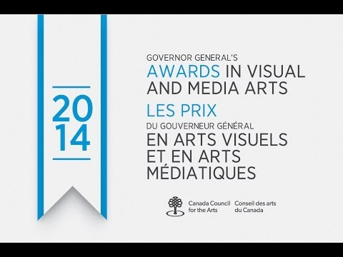 The Governor General's Awards in Visual and Media Arts 2014