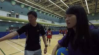Publication Date: 2019-04-09 | Video Title: 20190407簡易運動(迷你排球)比賽(王余家潔潔對仁紀女