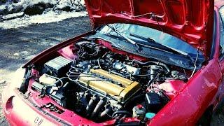 Honda Del Sol D16 to B18 swap