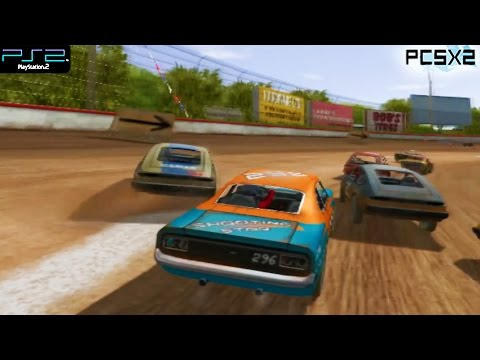 Driven to Destruction / Test Drive: Eve of Destruction -  PS2 Gameplay SD + FXAA (PCSX2)