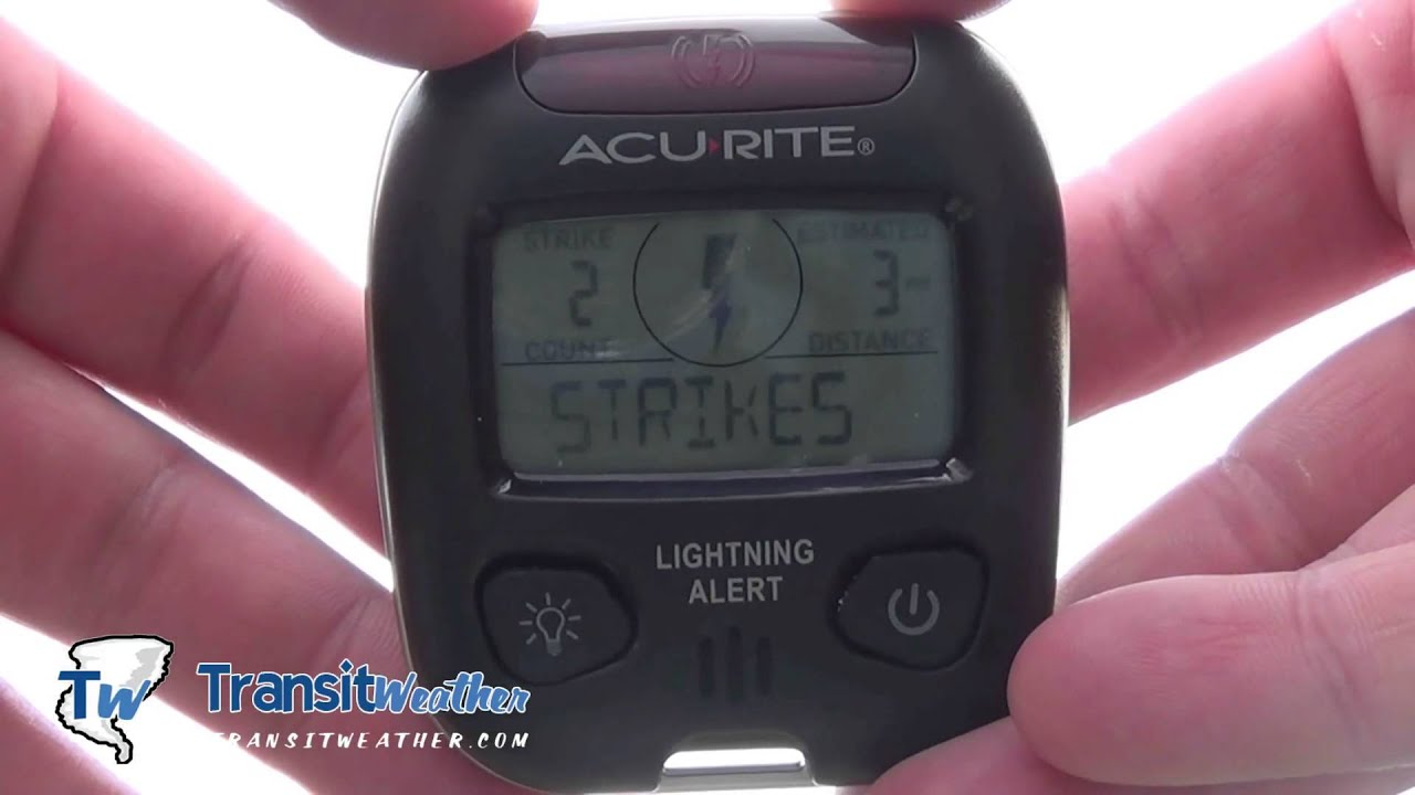 Multimeter As Lightning Detector