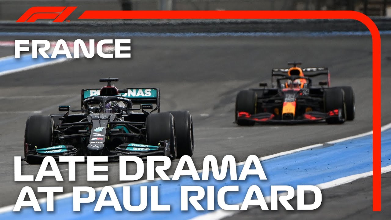 Max Verstappen's Late Race-Winning Overtake | 2021 French Grand Prix