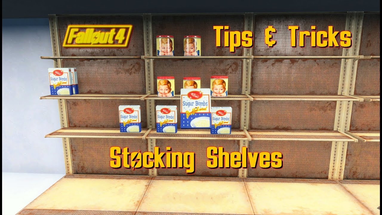 Tips Tricks Stocking Shelves