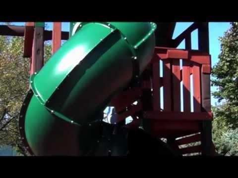 5 Foot Turbo Tube Slide by Swing-N-Slide