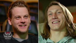 Joe Burrow and Trevor Lawrence exclusive ESPN interview | College Football Playoff