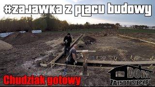 #zajawka z placu budowy - chudziak gotowy. #domza150tysiecy.pl Zrób to sam.