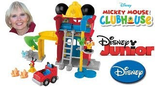 ♥♥ Mickey's Funny Firehouse Mickey Mouse Clubhouse
