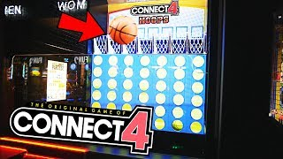 NEVER BEFORE SEEN HUGE CONNECT 4 ARCADE GAME!