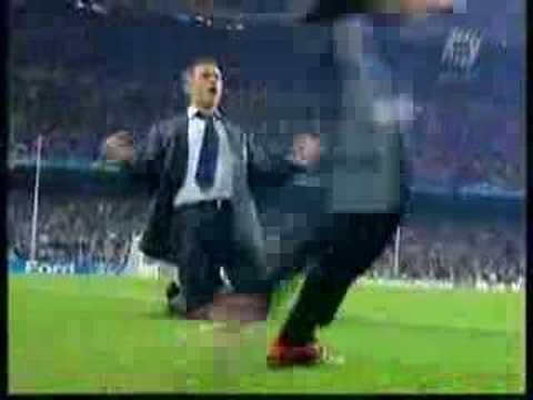 Mourinho celebration