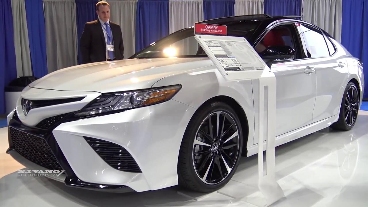 2018 Toyota Camry Xse V6 Sedan Exterior And Interior Walkaround Albany Auto Show 2017 Youtube