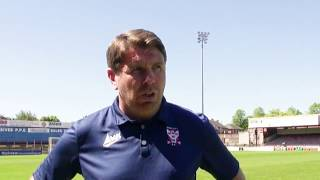 Martin Gray on Kallum Griffiths and transfer latest