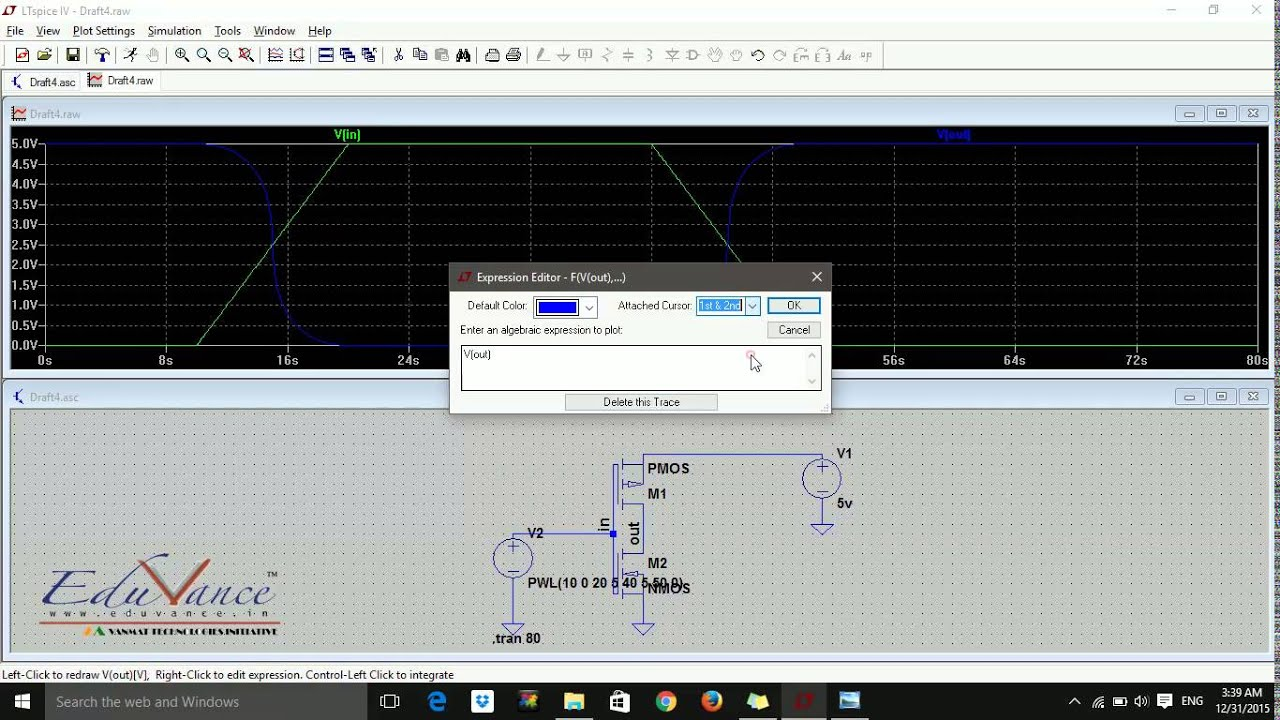LTSpice Lecture 6 Analysis of Inverter
