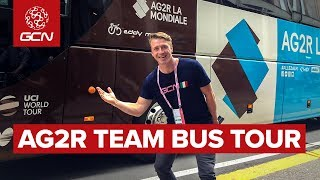 AG2R La Mondiale Team Bus Tour | Inside The Giro d'Italia 2019