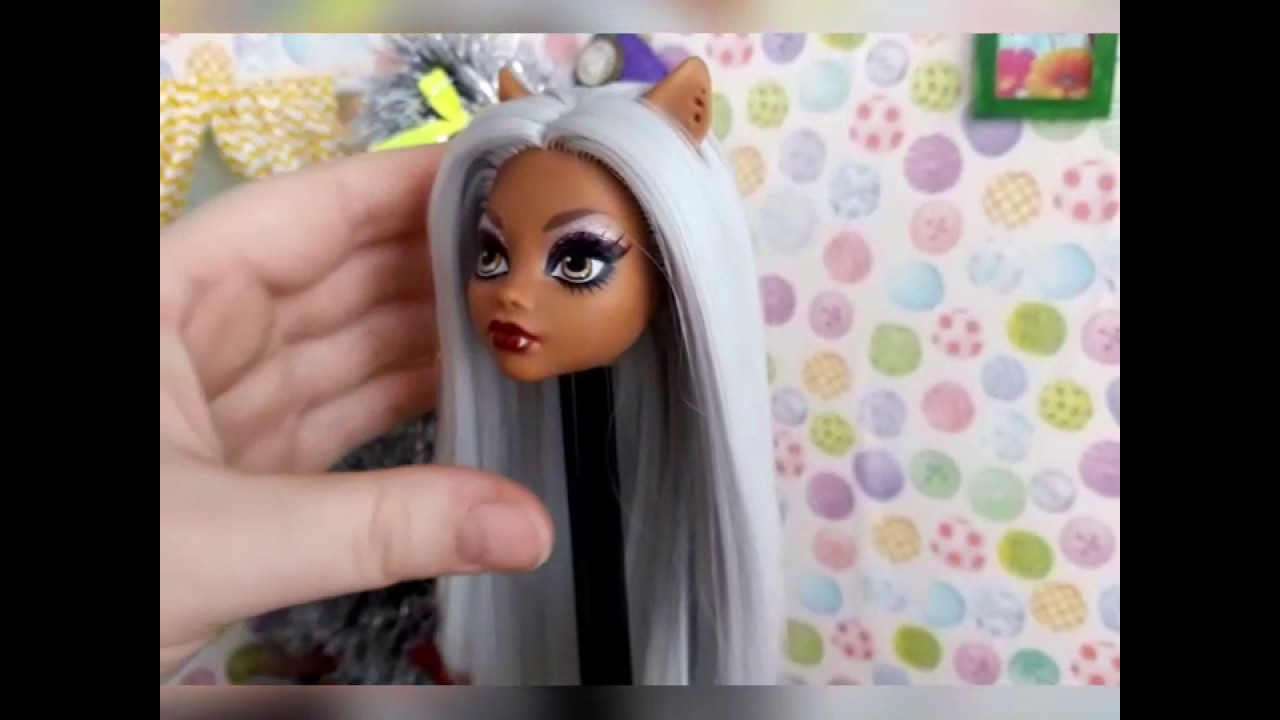 Прошивка волос кукол монстер хай