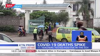 Tononoka Secondary School Principal succumbs to COVID-19 as cases spike in the Country