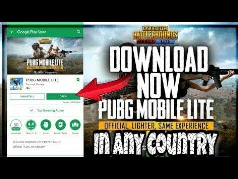 PUBG Mobile Lite 🔥🔥| 1GB RAM | Fix 100% Work | No Click Bait | Full  Download Process With Gameplay