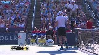 2015 ATP Rogers Cup Final Highlights - Novak Djokovic v Andy Murray