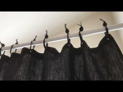 Organic Hemp Shower Curtain - PVC-Free - By Rawganique Since 1997