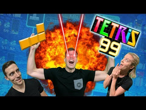 Block Jocks - Tetris 99 Gameplay