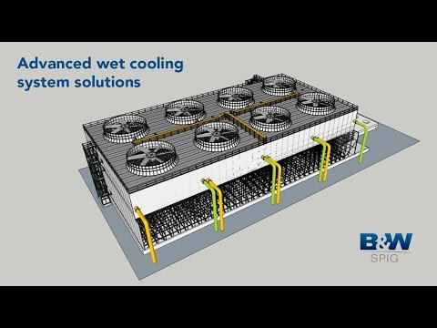 FRP Wet Cooling Towers | B&W SPIG