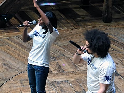 High School Students Take 'Hamilton' Stage
