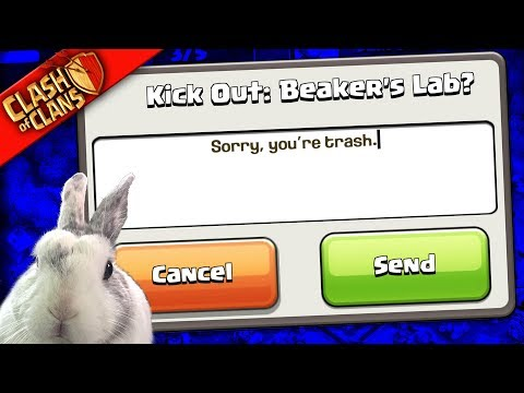 JUST KICK YOURSELF?. ▶️ Clash of Clans ◀️ (too bad to clash)