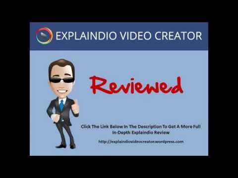 Thumbnail: Explaindio Review - Honest Review Of Explaindio Video Creator Software