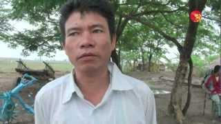 Farmers Want Back Their Seized Land by Burmese Navy.