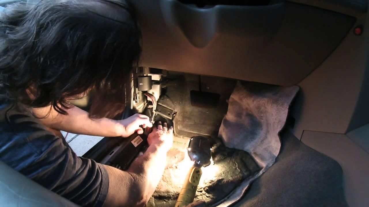 Jeep Water Leak Repair Of Sunroof Drain Causing Wet