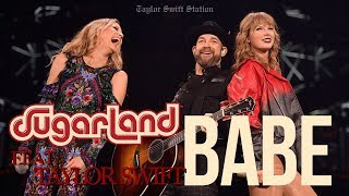 Sugarland - Babe ft. Taylor Swift (Live at reputation Stadium Tour Dallas) Video