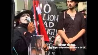 Day of Mourning for West Papuan Peoples Join the Carnival of Dirt   A Funeral Procession 2012  Part 1 xvid