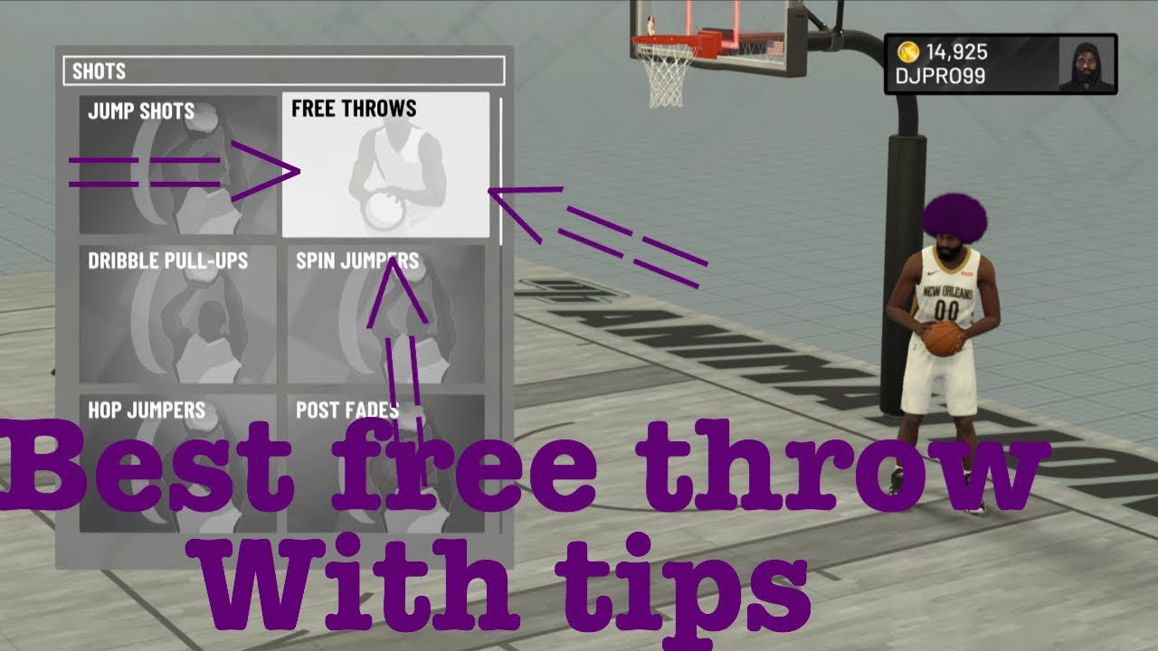 NBA 2k19 BEST FREE THROW|| TIPS AND TRICKS