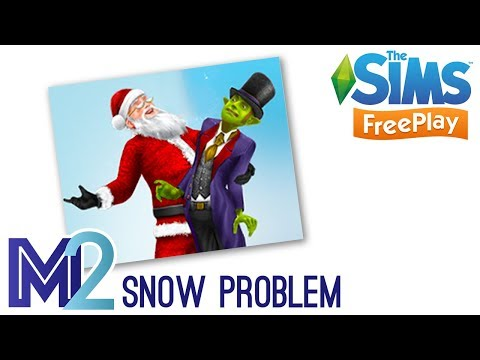 Sims FreePlay - Snow Problem Quest (Early Access Preview)