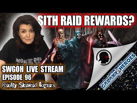 SWGOH Live Stream Episode 96: Sith Raid Rewards? | Star Wars: Galaxy of Heroes #swgoh