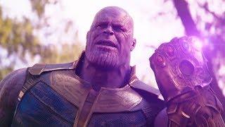 AVENGERS INFINITY WAR Thanos Blu-ray Bonus Clip + Trailer