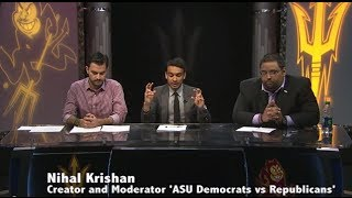 ASU Democrats vs Republicans: Human element of Minimum Wage
