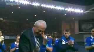 Walter Smith - Ibrox Farewell 10-05-11 (Rangers vs Dundee Utd)