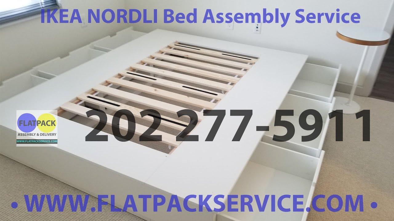 Ikea Nordli Storage Bed Assembly Service In Washington Dc Md Va 240 603 2781