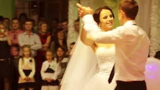 Олег  і  Катя, перший танець наречених, 20 09 2014, Миколаїв