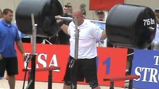 2011 World's Strongest Man- Squat Lift- Mike Jenkins