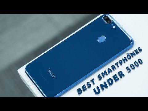 Top5    Best Smartphones    Under 5000    2019