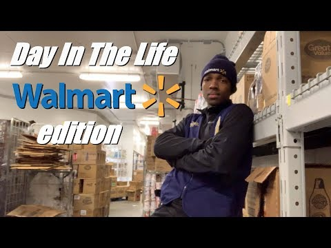 Day In The Life Of A Walmart Employee (Behind The Scenes)