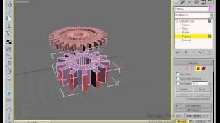 Создание и анимация шестеренок, в 3ds Max, или основы часового механизма. Видео урок