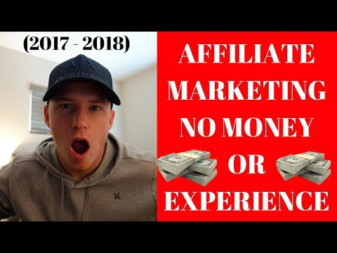 HOW TO MAKE A FULL TIME INCOME AFFILIATE MARKETING WITH NO EXPERIENCE OR MONEY