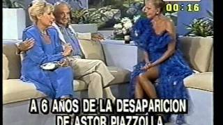 Astor Piazzolla Entrevista c1988 por Pinky
