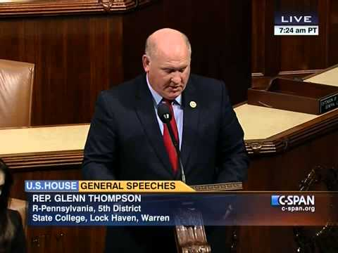 Thompson discusses foundation for bipartisan results in second session 113th Congress