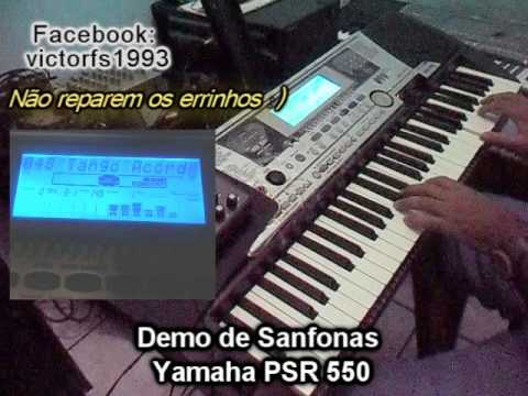 yamaha psr 550 demo de sanfonas victor o fenomeno das. Black Bedroom Furniture Sets. Home Design Ideas