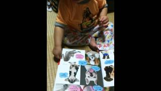Baby Reads A Book About Dogs.