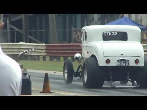 GASSER BAD ASS 32 FORD 4- SPEED BURNOUT * WHEELIE* CRAZY INSANE VINTAGE ROD